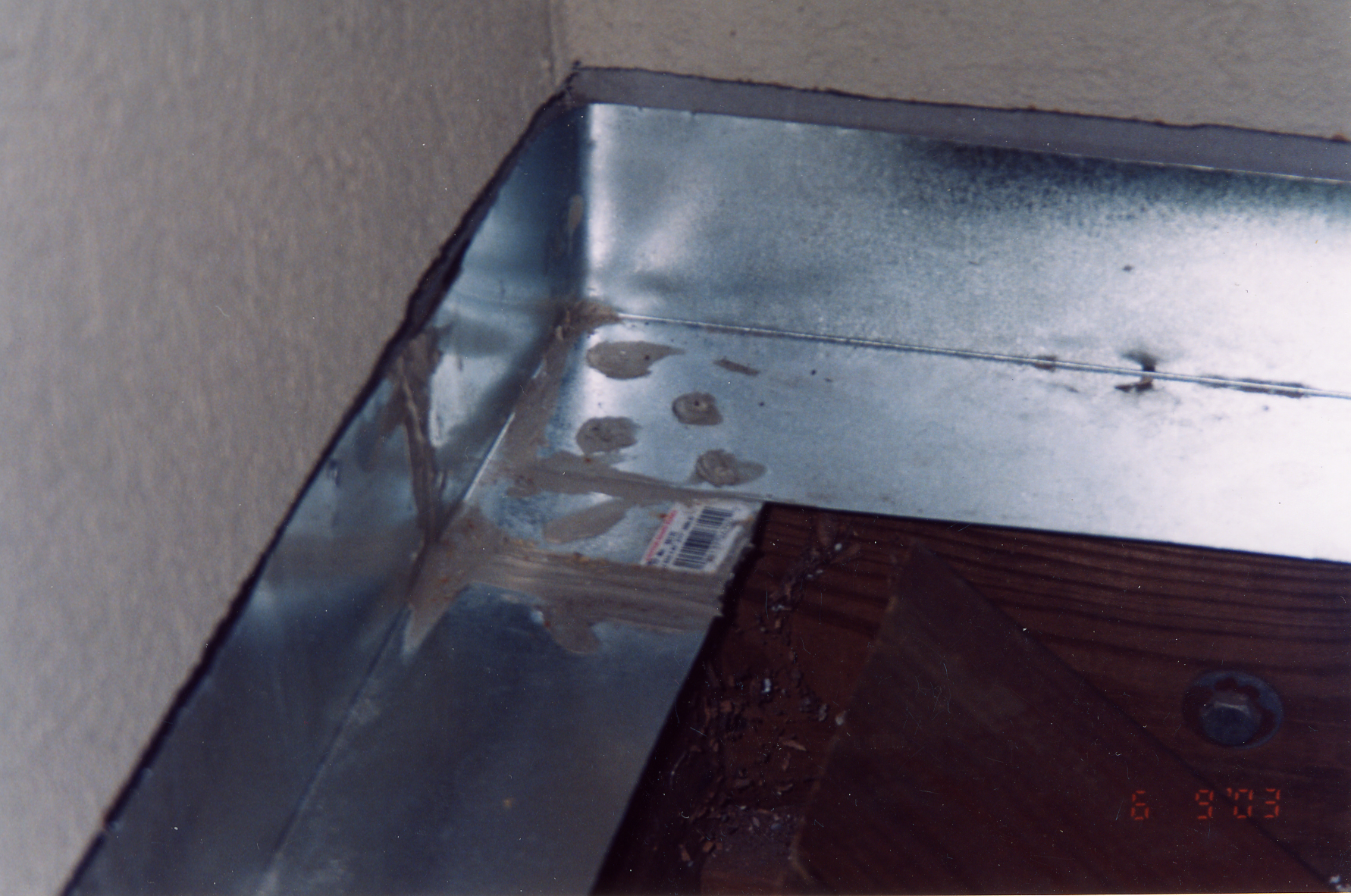 add flashing protect roof divert water away stucco